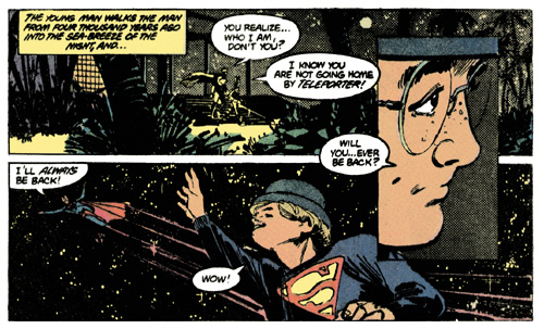 From Superman #400, Elliot S! Maggin and Klaus Janson