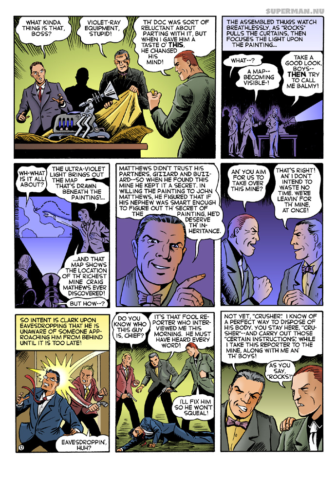 K-Metal from Krypton - Page 17: What Kinda Thing is That? [Cassidy / Foley]