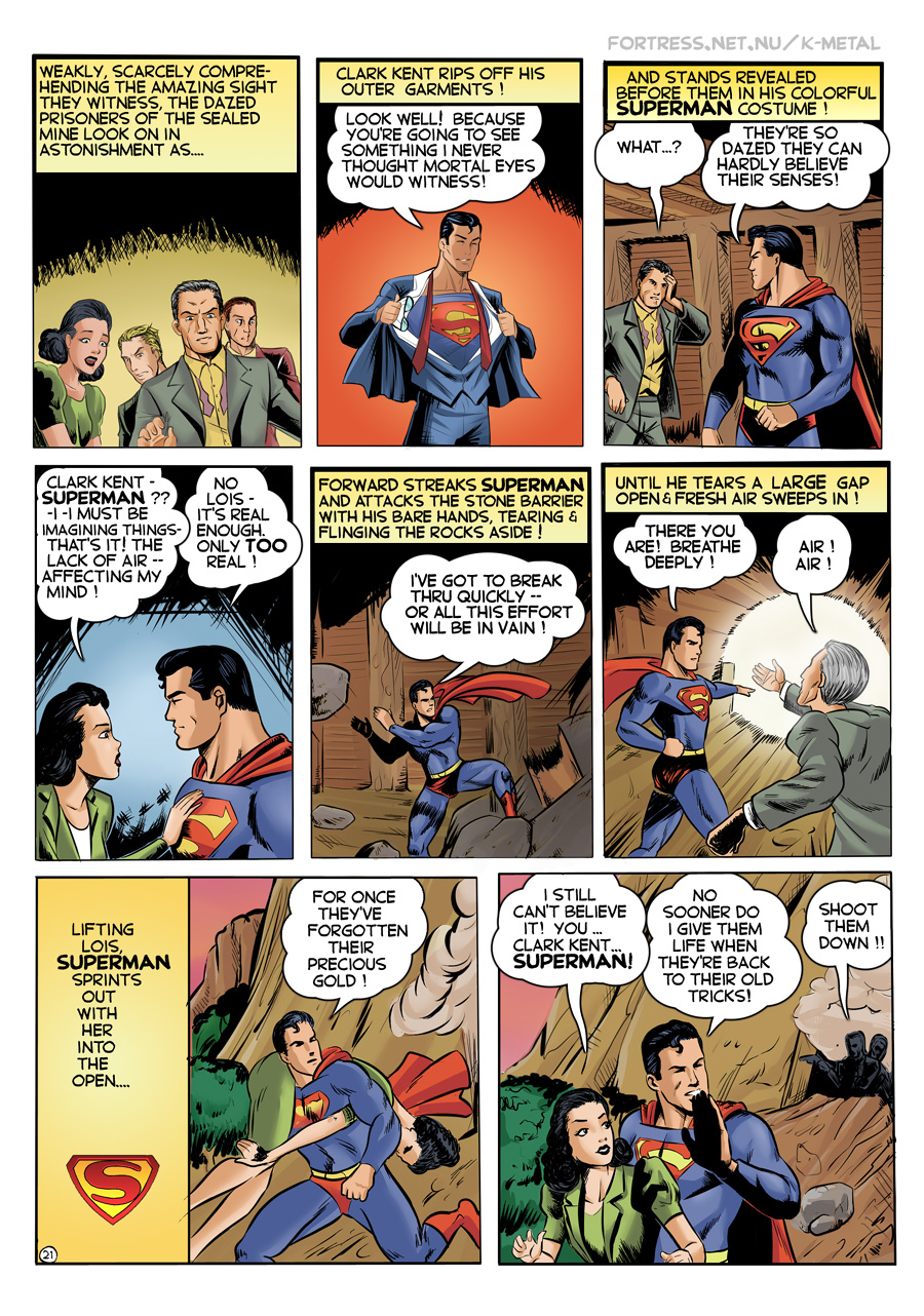 K-Metal from Krypton - Page 21: Look Well! [Boring & Stefan]