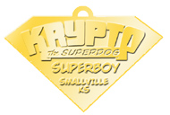 Krypto's SUPER DOG TAG!